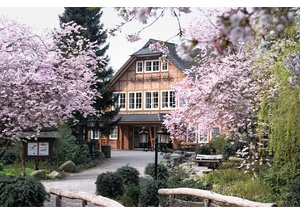 Der Wildpark Schwarze Berge im Frühling