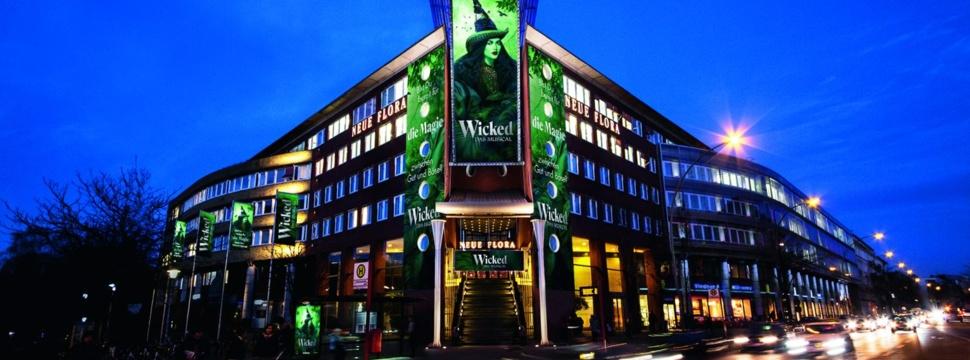 WICKED in der Neuen Flora, © Stage Entertainment
