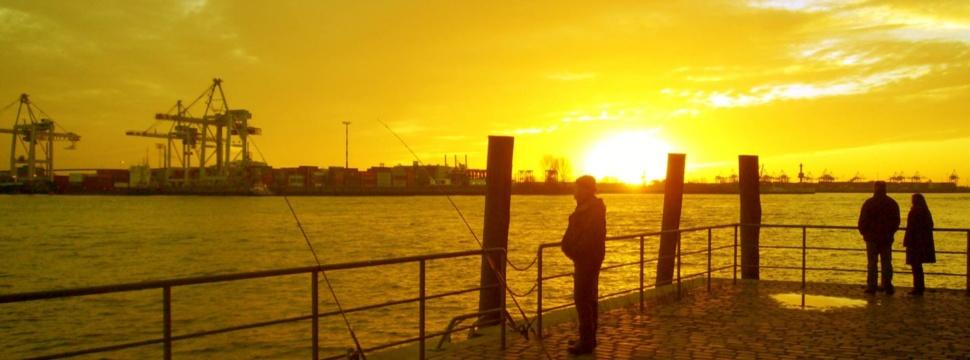 Angeln in Hamburg, © Jerzy/pixelio.de