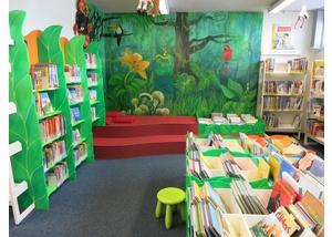 Der Kinderbereich in der Bücherhalle Fuhlsbüttel