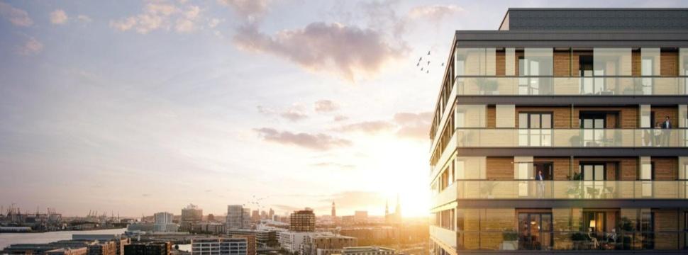 Bauprojekt Holzhochhaus roots, © Garbe Immobilien-Projekte GmbH / Eva Eusterhus