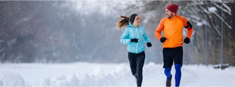Joggen im Winter, © ERGO Group