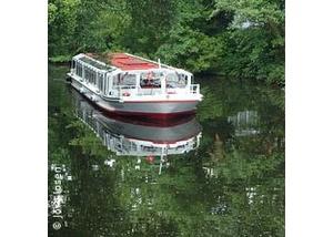Kanalfahrt auf der Alster