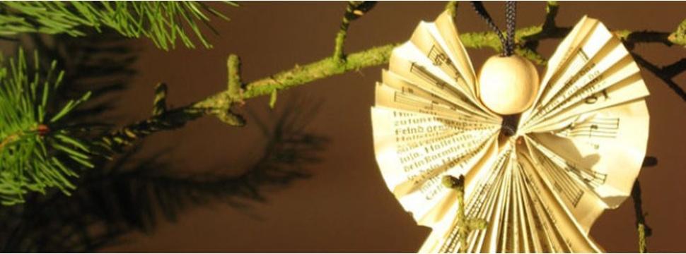 Baumschmuck aus Papier, © NABU/Hans Heinrich Köhnecke