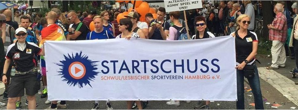 Startschuss, © Schwul/Lesbischer Sportverein Hamburg e. V.
