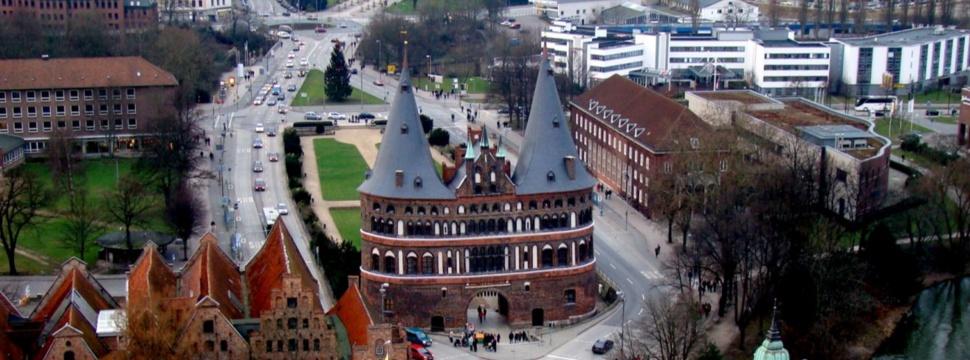 Holstentor in Lübeck, © Wolfgang / www.pixelio.de