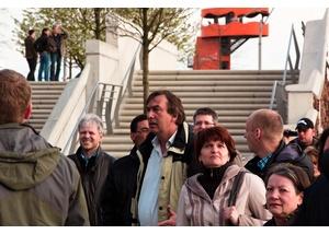 Hafencity Rundgang mit Gruppe