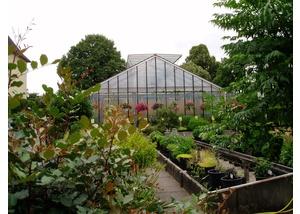 Gewächshaus des Botanischen Sondergartens Wandsbek