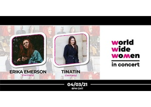 Weltweit Wo+men in Concert #7 – Erika Emerson & TINATIN
