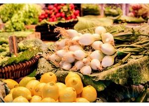 Wochenmarkt auf dem Eckhoffplatz