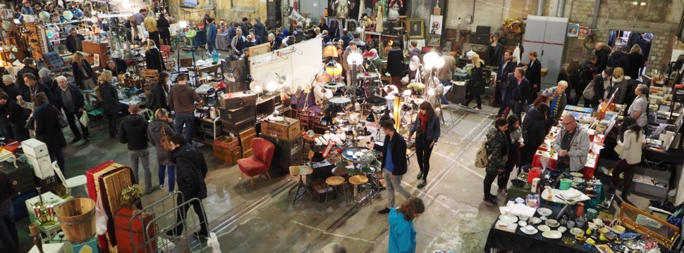 Antique Design und Vintage Market auf Kampnagel