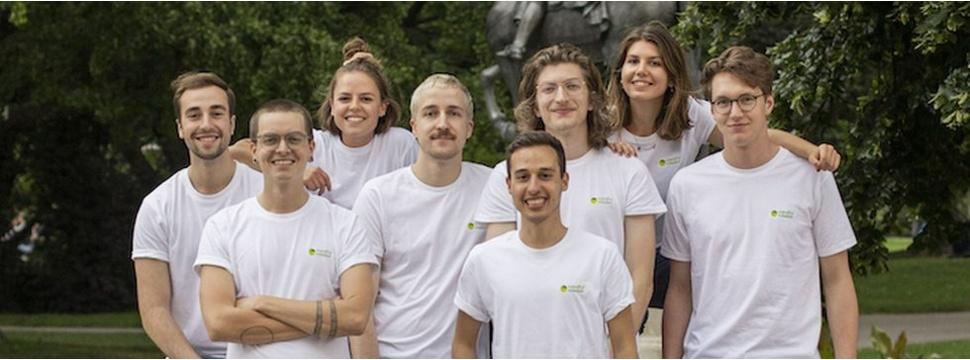 Das Team von TeamClimate, Pressefoto