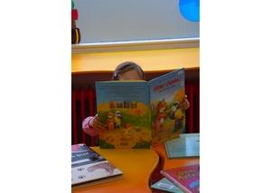 Der Kinderbereich in der Bücherhalle Schnelsen