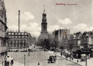 Schaarmarkt historisch