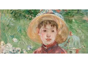 Junges Mädchen im Gras (Mlle Isabelle Lambert)