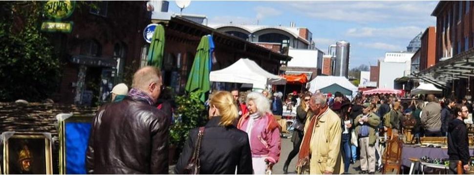 Flohmarkt Flohschanze, © marktkultur hamburg