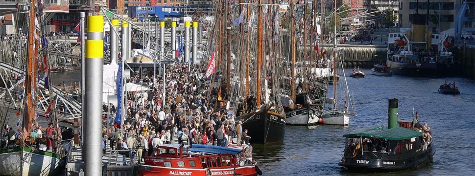 Traditionsschiffhafen, © Stiftung Hamburg Maritim