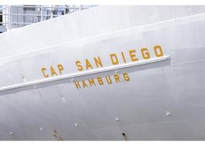 Museumsschiff  CAP SAN DIEGO