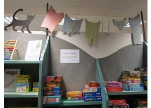 Spiele in der Bücherhalle Lokstedt