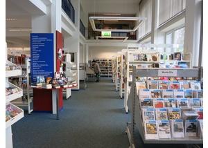 Die Bücherhalle Holstenstraße