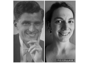 Walter Frick und Julia Gilfert