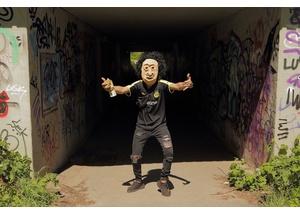 Rapper mit Maske