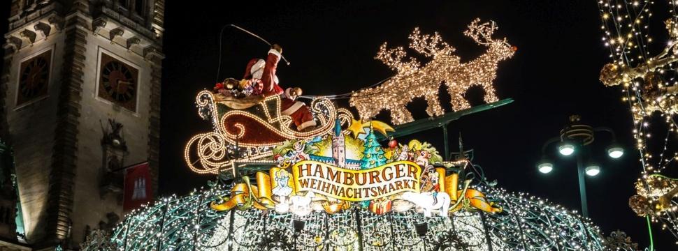 Weihnachtsmärkte in Hamburg, © iStock.com/Nellmac