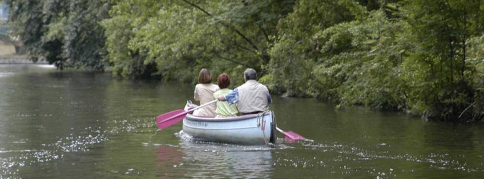 Kanu auf dem Alsterkanal, © hamburg-magazin.de