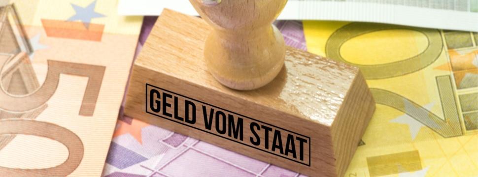 Geld vom Staat, © iStock.com/Stadtratte
