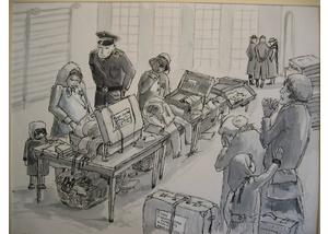 Zeichnung von Ingrid Wecker