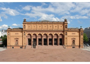 Außenansicht Hamburger Kunsthalle