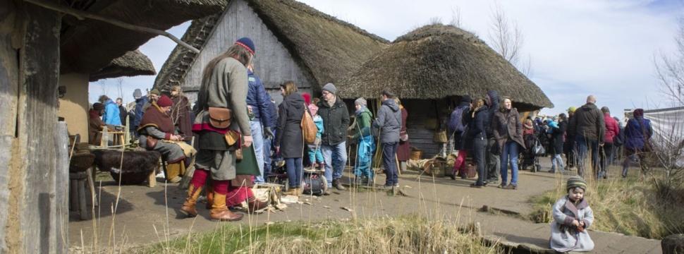 Wikingermuseum Haitabu in Schleswig, Pressefoto