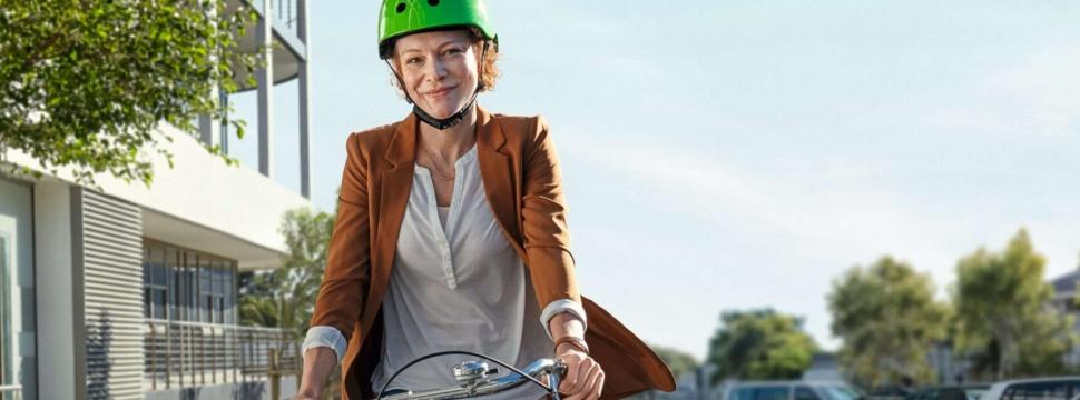 Mit dem Rad zur Arbeit, © ADFC/AOK