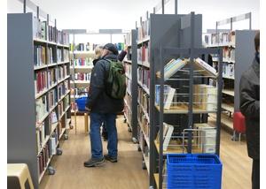 Die Bücherhalle Bergedorf