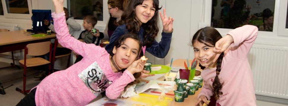 Gesundes Frühstück für Kinder, Pressefoto