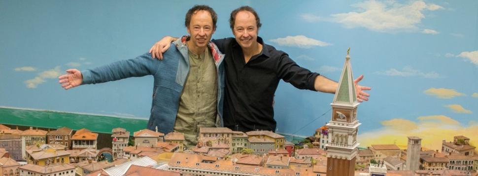 Frederik und Gerrit Braun in Venedig, © Miniatur Wunderland