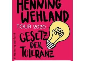 Henning Wehland - Gesetz der Toleranz - Tour 2021